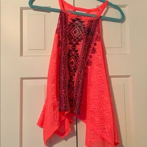Sleeveless Rue21 Lace Top